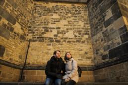 Что делать в Праге зимой. Средневековые стены Праги для фотосессии.