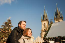 Прага зимой фото рождество. Москва Прага Новый год из спб. Главная елка Праги. Тынский храм. Заказать фотосессию.