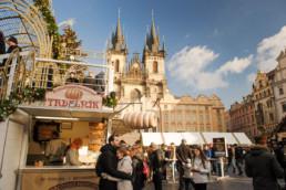 Прага перед рождеством. Отдых в Чехии на рождество. На рождественской ярмарке в центре Праги. Главная елка в Праге в 2017/2018. Организуем фотосессии для гостей города.