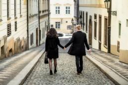 Фотосессия в Праге в феврале