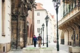 Старые улочки Праги. Фотосессия для двоих.
