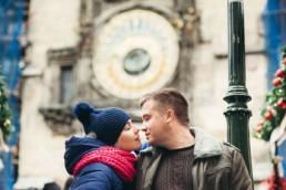 Фотосессия у Пражских курантов в Праге. Орлой.