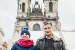 Фотосессия на Староместской площади