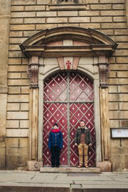 Ворота в Праге.