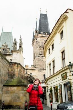 Красивые фотографии из Праги около Карлова моста.