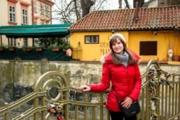 Фотосессия в Пражской Венеции. Река Чертовка. Мост влюбленных.