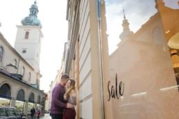 Love Story в Праге. Найти фотографа можно у нас. Рождество в Чехии.