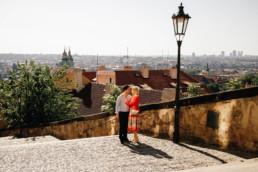 Фотосессия в Праге цена. Фотопрогулка по Праге № 1. Портрет на Пражском Граде