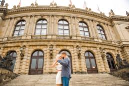 Фотопрогулка по Праге № 3. Фотосессия для двоих
