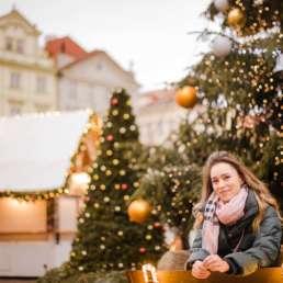 Староместсткая площадь, главная елка страны и рождественская ярмарка.