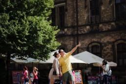 Фотосессия в Праге для пары в июле