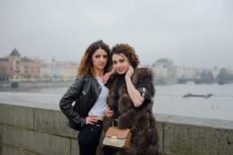 Фотосессия для подружек в Праге