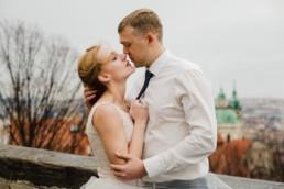 Любовь. Чехия. Свадебное платье.