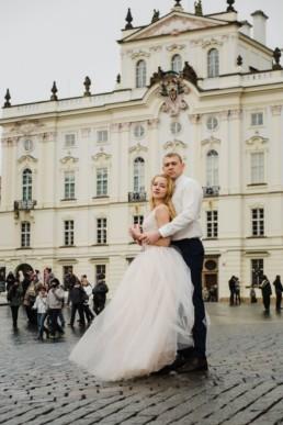 Почти свадебная фотосессия в Праге.