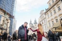 главные достопримечательности Праги. Фотосессия на Староместской площади. Центр Праги.