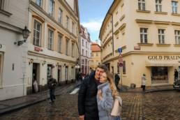 Какая зима в Праге. Погода в январе.