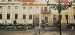 Фотограф в Праге, Лорета, фотосессия для туристов