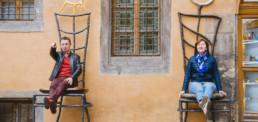 Фотограф в Праге Тынский двор, семейная фотосессия