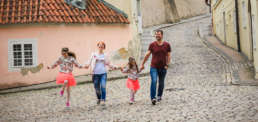 Фотограф в Праге Новый Свет, семейная фотосессия