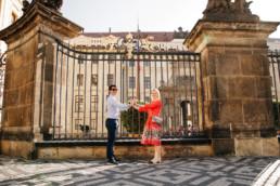 Фотопрогулка по Праге № 1. Фотосессия у Пражского Града