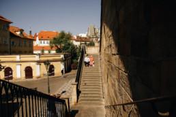 Фотопрогулка по Праге № 1. Карлов Мост, лестница