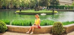 Фотограф в Праге. Фотосессия в Вальдштейнском саду. Фотомаршрут №2. Закажите у нас свою профессиональную фотосессию в Чехии!
