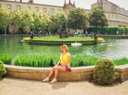 Фотопрогулка по Праге № 2. Фотосессия в Вальдштейнском саду