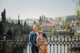 Фотопрогулка по Праге № 3. Портрет на фоне Карлова моста