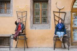 Фотосессия в Праге для родителей заказать