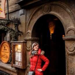 Улочки старого города. Фотосессия в Праге на Рождество и Новый год
