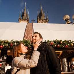 Старомак. Тынский храм. Ярмарка. Фотосессия в Праге на Рождество и Новый год