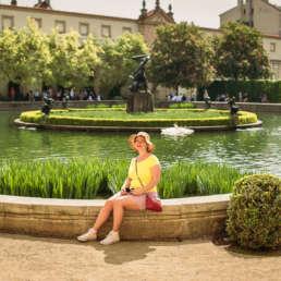 Вальдштейнский сад.